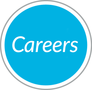 Round blue navigational button to Careers