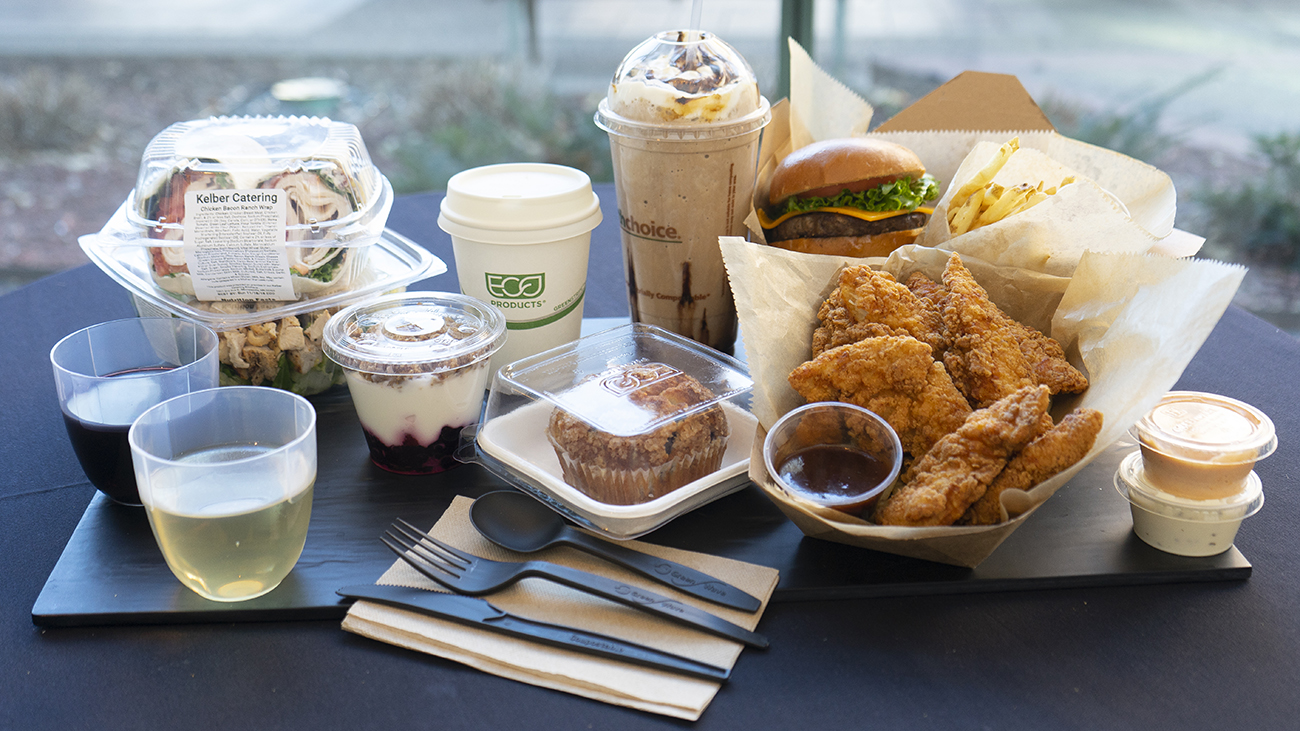 Environmentally friendly cups, packaging and utensils