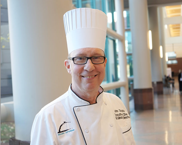 John Doody, Executive Chef at Kelber Catering