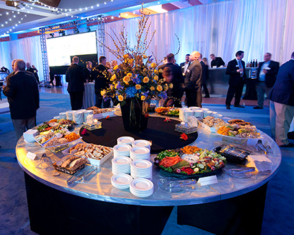 Gala Reception by Kelber Catering