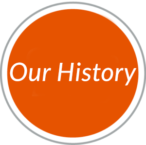 Round red navigational button to Our History