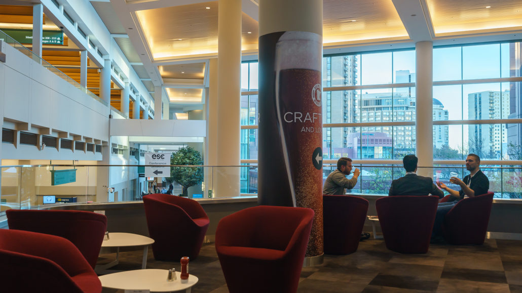 Craft Bar & Lounge within Minneapolis Convention Center